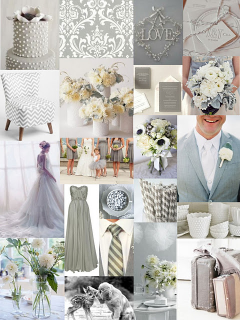 Mute with shades of grey and gold to take through to autumn